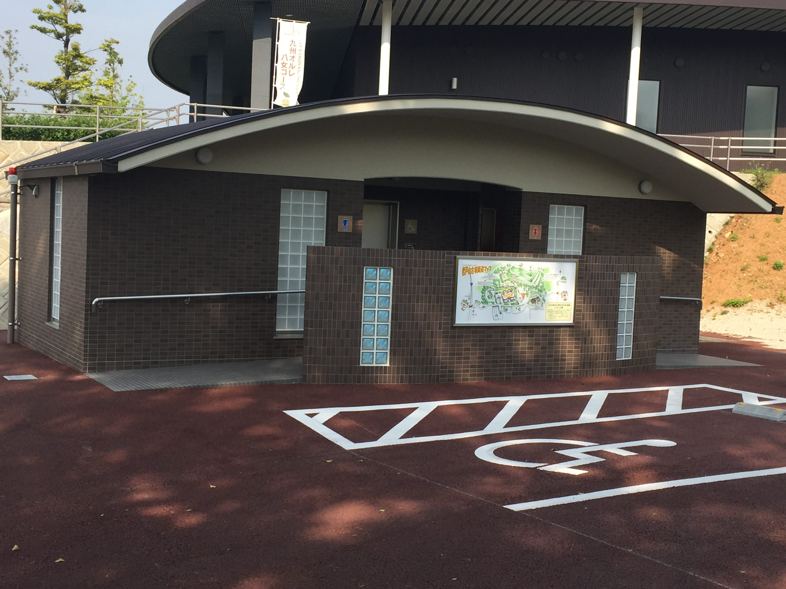 H29,1 岩戸山歴史文化交流館屋外トイレ